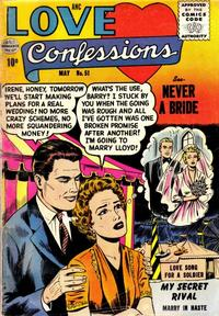 Cover Thumbnail for Love Confessions (Quality Comics, 1949 series) #51