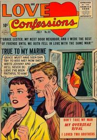 Cover Thumbnail for Love Confessions (Quality Comics, 1949 series) #52
