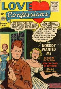 Cover Thumbnail for Love Confessions (Quality Comics, 1949 series) #53