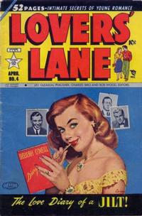 Cover Thumbnail for Lovers' Lane (Lev Gleason, 1949 series) #4