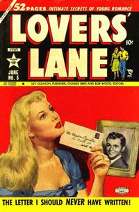 Cover Thumbnail for Lovers' Lane (Lev Gleason, 1949 series) #5