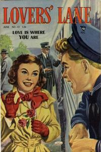 Cover Thumbnail for Lovers' Lane (Lev Gleason, 1949 series) #13