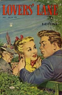 Cover Thumbnail for Lovers' Lane (Lev Gleason, 1949 series) #14