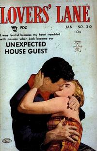 Cover Thumbnail for Lovers' Lane (Lev Gleason, 1949 series) #20