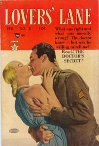 Cover Thumbnail for Lovers' Lane (Lev Gleason, 1949 series) #21