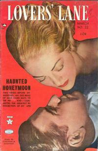 Cover for Lovers' Lane (Lev Gleason, 1949 series) #22