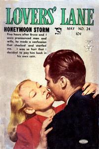 Cover Thumbnail for Lovers' Lane (Lev Gleason, 1949 series) #24