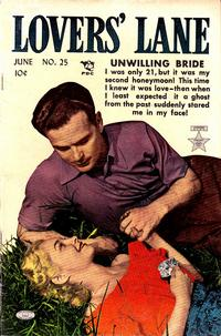 Cover Thumbnail for Lovers' Lane (Lev Gleason, 1949 series) #25