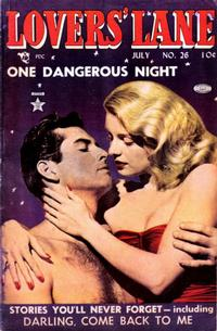 Cover Thumbnail for Lovers' Lane (Lev Gleason, 1949 series) #26