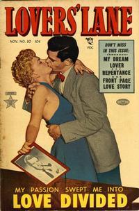 Cover Thumbnail for Lovers' Lane (Lev Gleason, 1949 series) #30