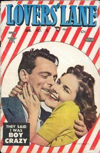 Cover Thumbnail for Lovers' Lane (Lev Gleason, 1949 series) #31