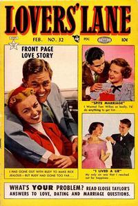 Cover Thumbnail for Lovers' Lane (Lev Gleason, 1949 series) #32