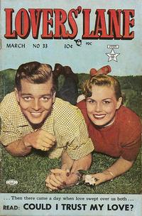 Cover Thumbnail for Lovers' Lane (Lev Gleason, 1949 series) #33