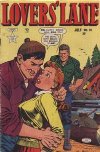 Cover Thumbnail for Lovers' Lane (Lev Gleason, 1949 series) #35