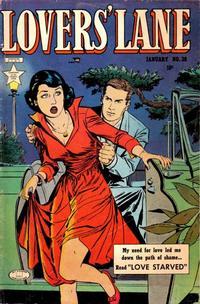 Cover Thumbnail for Lovers' Lane (Lev Gleason, 1949 series) #38