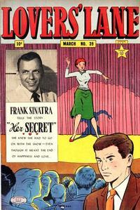 Cover Thumbnail for Lovers' Lane (Lev Gleason, 1949 series) #39