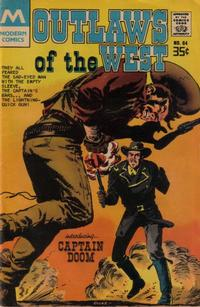 Cover Thumbnail for Outlaws of the West (Modern [1970s], 1977 series) #64