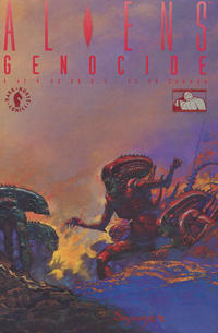 Cover Thumbnail for Aliens: Genocide (Dark Horse, 1991 series) #4