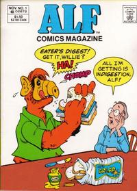 Cover Thumbnail for ALF Comics Magazine (Marvel, 1988 series) #1