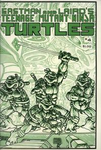 Cover Thumbnail for Teenage Mutant Ninja Turtles (Mirage, 1984 series) #4