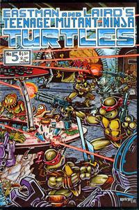 Cover Thumbnail for Teenage Mutant Ninja Turtles (Mirage, 1984 series) #5