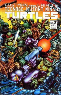 Cover Thumbnail for Teenage Mutant Ninja Turtles (Mirage, 1984 series) #7