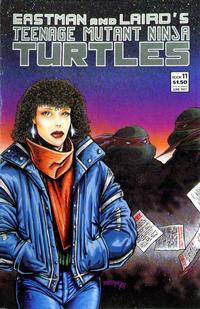 Cover for Teenage Mutant Ninja Turtles (Mirage, 1984 series) #11