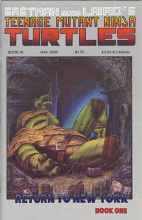 Cover Thumbnail for Teenage Mutant Ninja Turtles (Mirage, 1984 series) #19