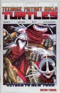 Cover Thumbnail for Teenage Mutant Ninja Turtles (Mirage, 1984 series) #21