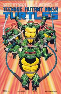 Cover Thumbnail for Teenage Mutant Ninja Turtles (Mirage, 1984 series) #24
