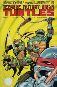Cover Thumbnail for Teenage Mutant Ninja Turtles (Mirage, 1984 series) #26