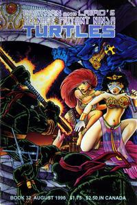 Cover Thumbnail for Teenage Mutant Ninja Turtles (Mirage, 1984 series) #32