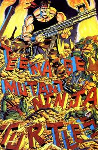 Cover for Teenage Mutant Ninja Turtles (Mirage, 1984 series) #34