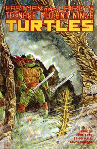 Cover Thumbnail for Teenage Mutant Ninja Turtles (Mirage, 1984 series) #37