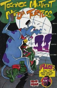 Cover Thumbnail for Teenage Mutant Ninja Turtles (Mirage, 1984 series) #38