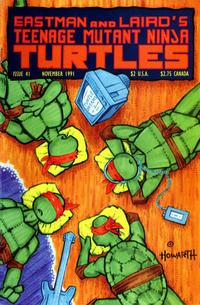Cover Thumbnail for Teenage Mutant Ninja Turtles (Mirage, 1984 series) #41