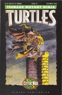 Cover Thumbnail for Teenage Mutant Ninja Turtles (Mirage, 1984 series) #54