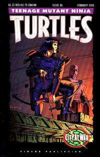 Cover Thumbnail for Teenage Mutant Ninja Turtles (Mirage, 1984 series) #56