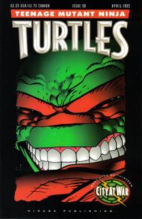 Cover Thumbnail for Teenage Mutant Ninja Turtles (Mirage, 1984 series) #58