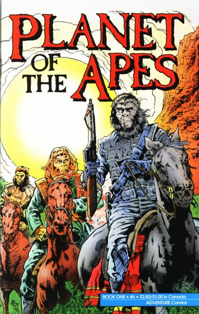 Cover for Planet of the Apes (Malibu, 1990 series) #6