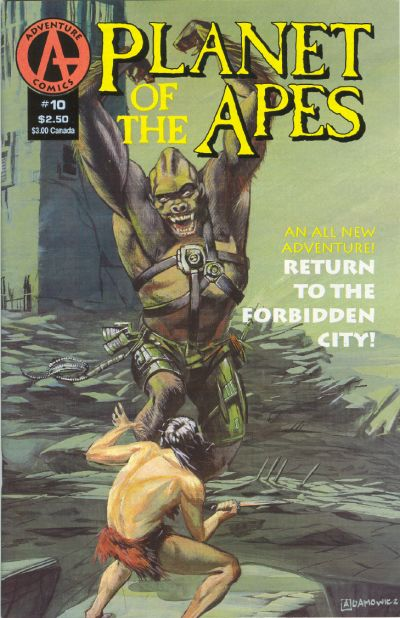 Cover for Planet of the Apes (Malibu, 1990 series) #10