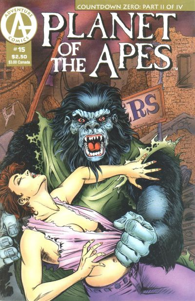 Cover for Planet of the Apes (Malibu, 1990 series) #15