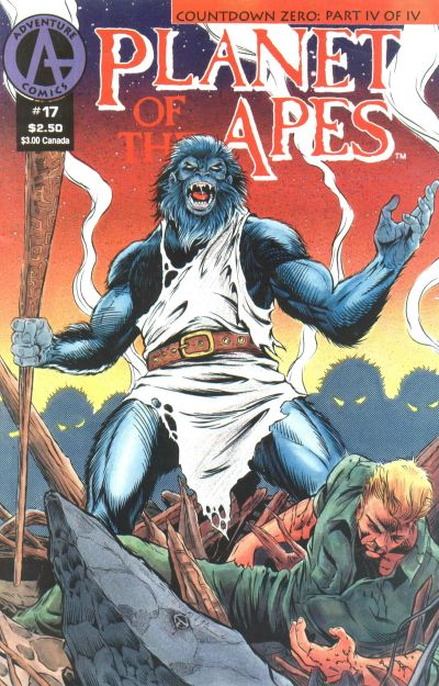 Cover for Planet of the Apes (Malibu, 1990 series) #17