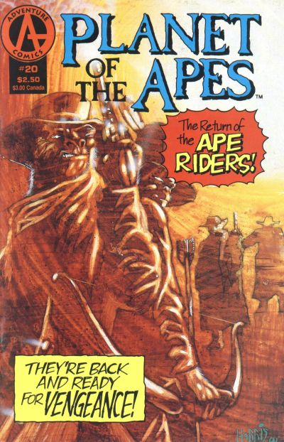Cover for Planet of the Apes (Malibu, 1990 series) #20