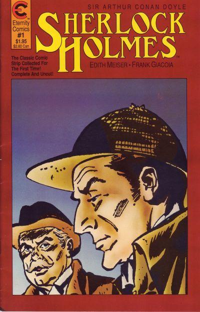 Cover for Sherlock Holmes (Malibu, 1988 series) #1