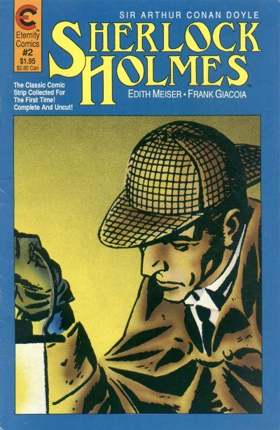 Cover for Sherlock Holmes (Malibu, 1988 series) #2
