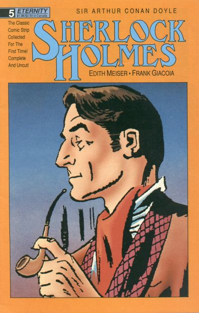 Cover for Sherlock Holmes (Malibu, 1988 series) #5