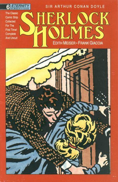Cover for Sherlock Holmes (Malibu, 1988 series) #6