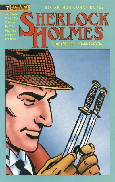 Cover for Sherlock Holmes (Malibu, 1988 series) #7