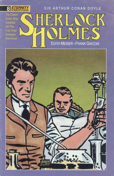 Cover for Sherlock Holmes (Malibu, 1988 series) #8
